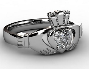claddagh wedding rings