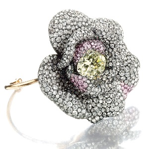 floral diamond rings jewelry